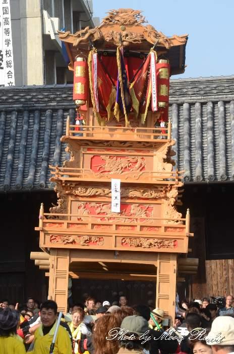 西条祭り2012 御殿前 玉津だんじり(屋台・楽車) 伊曽乃神社祭礼 愛媛県西条市明屋敷
