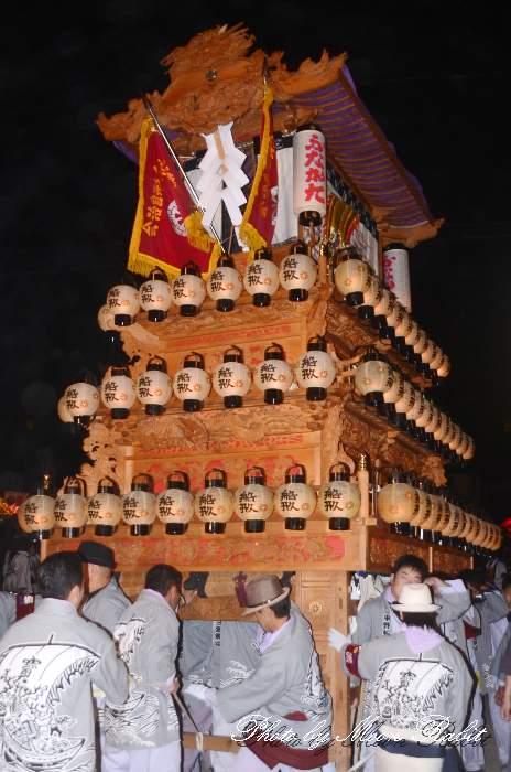 お旅所 船形だんじり(屋台・楽車) 西条祭り2012 伊曽乃神社祭礼 愛媛県西条市