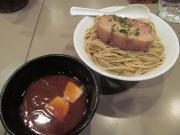 130129フランス産豚バラ肉の赤ワイン煮込みつけ麺 (1)