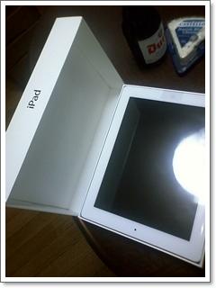 iPad2開梱