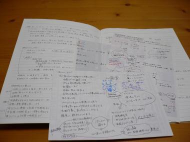 ノートとメモ