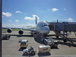 ルフトハンザ機 A380