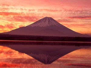 お正月 イメージ 富士山