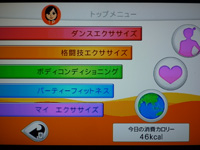 Fitness Party 2013年11月03日カロリー 合計 46kcal
