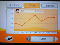 Fitness Party 1月18日カロリー 合計 678kcal