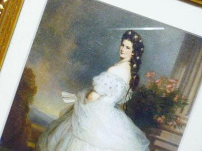 オーストリア皇妃エリザベートの肖像画