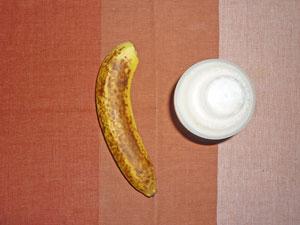 バナナ,プロテインダイエット(イチゴミルク味)