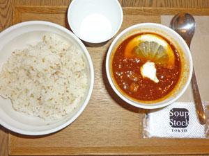東京ボルシチ,白胡麻ご飯