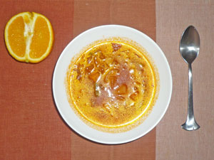 トマトスープ,オレンジ