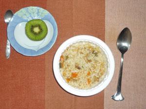 発芽玄米の野菜リゾット