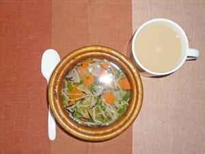 和風スープ,ミルクティー