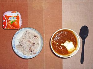 五穀米ご飯,東京ボルシチ,ヨーグルト