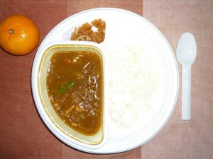 野菜カレー,オレンジ