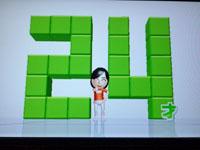 Wii フィットプラス バランス年齢 24歳