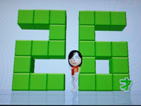 Wii フィットプラス バランス年齢26歳