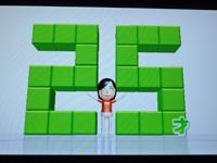 Wii フィットプラス バランス年齢25歳。バンザ~イ