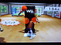 Wii フィットプラス リズムボクシング 模範演技