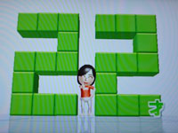 Wii Fit Plus バランス年齢22歳