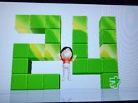 Wii Fit Plus 3月15日のバランス年齢は24歳