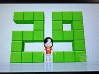 Wii Fit Plus 3月16日のバランス年齢29歳