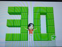 Wii Fit Plus バランス年齢30歳