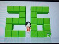 Wii Fit Plus 3月24日のバランス年齢 26歳