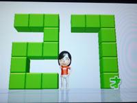 Wii Fit Plus 3月24日のバランス年齢 27歳
