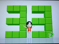 Wii Fit Plus 3月29のバランス年齢 33歳