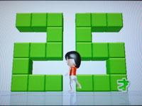 Wii Fit Plus 3月30日のバランス年齢 25歳