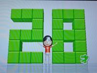 Wii Fit Plus 4月1日のバランス年齢 28歳