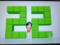 Wii Fit Plus 4月2日のバランス年齢22歳その2