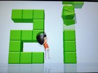 Wii Fit Plus 4月2日のバランス年齢22歳その1