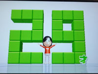 Wii Fit Plus 4月3日のバランス年齢 29歳
