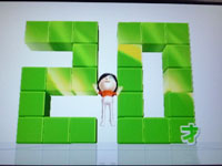 Wii Fit Plus 4月11日のバランス年齢 20歳