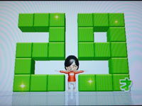 Wii Fit Plus 4月12日のバランス年齢 29歳