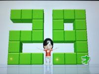 Wii Fit Plus 4月14日のバランス年齢 29歳