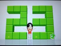 Wii Fit Plus 4月15日のバランス年齢 23歳