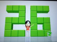Wii Fit Plus 4月17日のバランス年齢 26歳