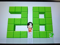 Wii Fit Plus 4月19日のバランス年齢 28歳