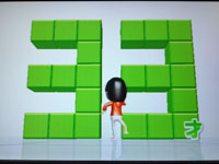 Wii Fit Plus 4月25日のバランス年齢 33歳