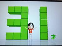 Wii Fit Plus 4月27日のバランス年齢 31歳 その2