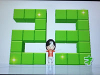 Wii Fit Plus 4月日のバランス年齢 23歳