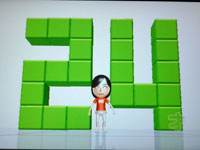 Wii Fit Plus 5月日のバランス年齢 24歳