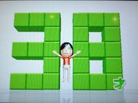 Wii Fit Plus 5月日のバランス年齢 38歳