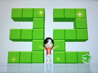 Wii Fit Plus 5月日のバランス年齢 32歳