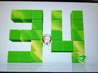 Wii Fit Plus 5月18日のバランス年齢 34歳
