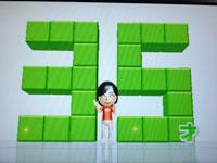 Wii Fit Plus 5月22日のバランス年齢 35歳