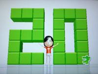 Wii Fit Plus 5月28日のバランス年齢 20歳