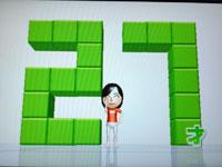 Wii Fit Plus 5月29日のバランス年齢 27歳