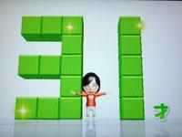Wii Fit Plus 6月3日のバランス年齢 31歳